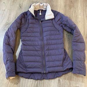 Fluffed up jacket